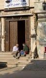 开罗街道 免版税库存照片