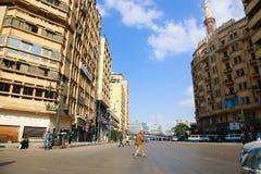 开罗街 图库摄影