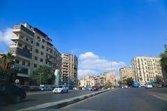 开罗街 免版税库存照片