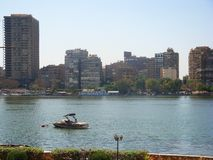 开罗视图 库存图片