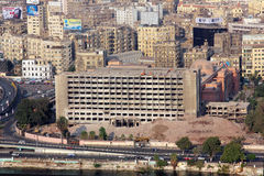 开罗视图 免版税图库摄影
