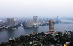 开罗视图 免版税库存照片