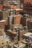 开罗贫民窟 免版税库存图片