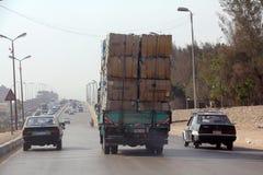 开罗路  免版税库存照片