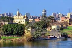开罗都市风景 免版税库存图片