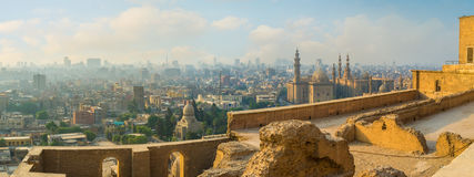 开罗都市风景  库存图片