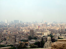 开罗都市风景 免版税库存照片