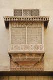 开罗雕刻了埃及传统视窗木头 库存图片