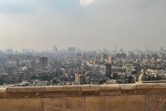 开罗,埃及全景从城堡的 库存照片