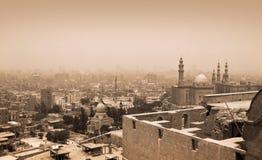 开罗,埃及历史大厦  库存图片