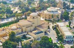 开罗,埃及歌剧院  免版税图库摄影