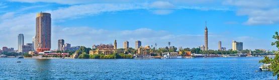 开罗,埃及河沿区  免版税库存图片