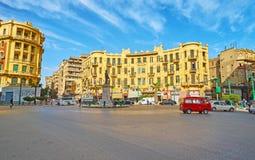 开罗,埃及进来街市  库存照片