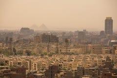 开罗,埃及都市风景  免版税库存图片