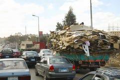 开罗,埃及- 2010年1月24日: 免版税库存照片