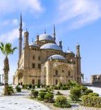 开罗` s穆罕默德阿里清真寺 库存图片
