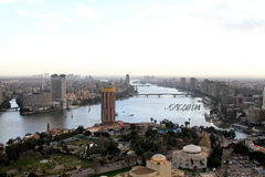 开罗gezira sofitel 免版税库存图片