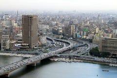 开罗hilton ramses 免版税库存图片