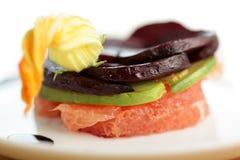 开胃健康沙拉素食主义者 免版税库存照片