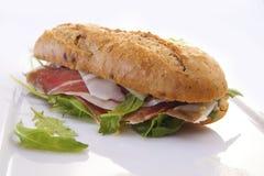 开胃反映三明治 免版税图库摄影