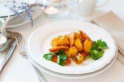 开胃和健康素食食物 免版税库存图片