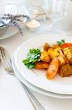 开胃和健康素食食物 免版税库存照片