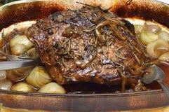 开胃和鲜美烘烤猪 免版税库存图片