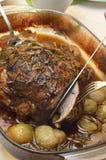 开胃和鲜美烘烤猪 免版税图库摄影