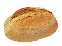 开胃嘎吱咬嚼的外壳面包。隔绝。 免版税库存照片