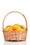 开胃填充柿子 库存照片