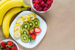 开胃套新鲜水果 免版税库存照片