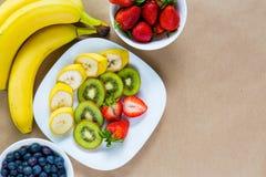开胃套新鲜水果 库存图片