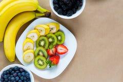 开胃套新鲜水果 库存照片