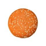 开胃小圆面包用芝麻 免版税库存照片