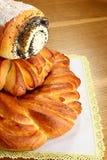 开胃小甜面包 库存图片