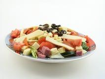 开胃小菜全部牌照的沙拉 免版税库存图片