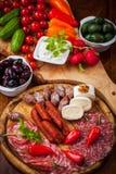 开胃小菜和Fingerfood 免版税图库摄影