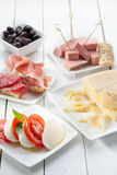 开胃小菜意大利传统 免版税库存图片
