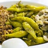 开胃小菜意大利语 免版税图库摄影
