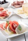 开胃小菜意大利语 免版税库存照片