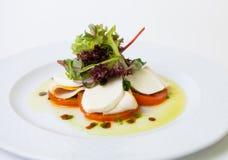 开胃小菜或意大利冷的快餐 免版税库存照片