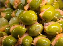 开胃小菜或Entrada在马德里商店 图库摄影