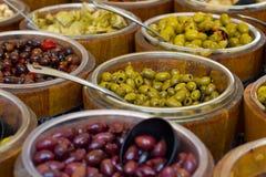 开胃小菜橄榄 免版税库存照片