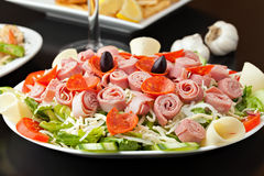 开胃小菜沙拉 库存图片