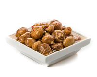 开胃小菜蘑菇 免版税库存照片