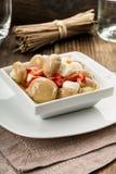 开胃小菜蘑菇 库存图片