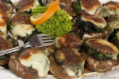 开胃小菜食物意大利语 免版税库存图片