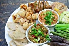 开胃小菜,泰国食物 图库摄影