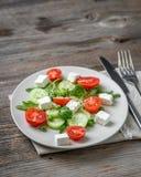 开胃希腊沙拉用香料 库存照片