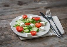 开胃希腊沙拉用香料 免版税库存照片